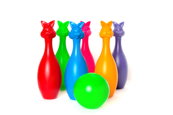 Кегли 6+1 шар(зайцы);арт023;4820123760331;0,0929
