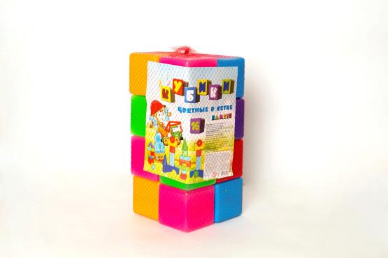 Кубик цветной в сетке 16-эл;арт111,1;48820123760966;0,0578