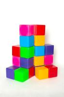 Кубик цветной в сетке 20-эл;арт111,2;4820123760959;0,0522