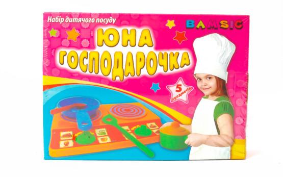 Посуда Юнная господарочка в коробке;арт048;4820123760768;375гр;6шт;32-10-29