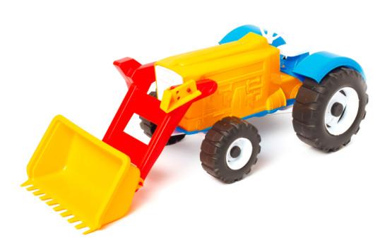 Трактор Колхозник№4;арт106-4;4820123761475;463гр;7шт;47-20-15