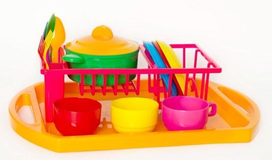 Посуда3 Юнная господарочка№3(19-эл);арт048,3;4820123761154;0,074844